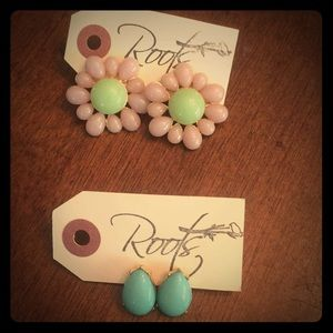 Roots Boutique- NWT- Set of two earrings